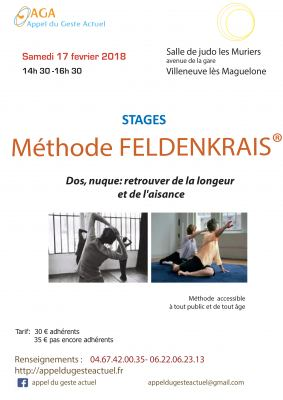 STAGE de METHODE FELDENKRAIS